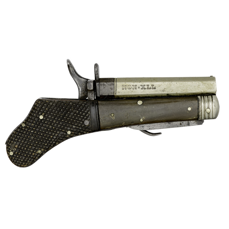 Percussion Knife Pistol By Unwin & Rodgers