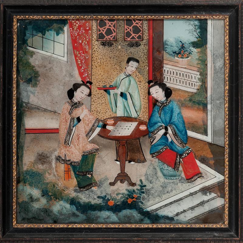 Chinese School, Interior Genre Scene