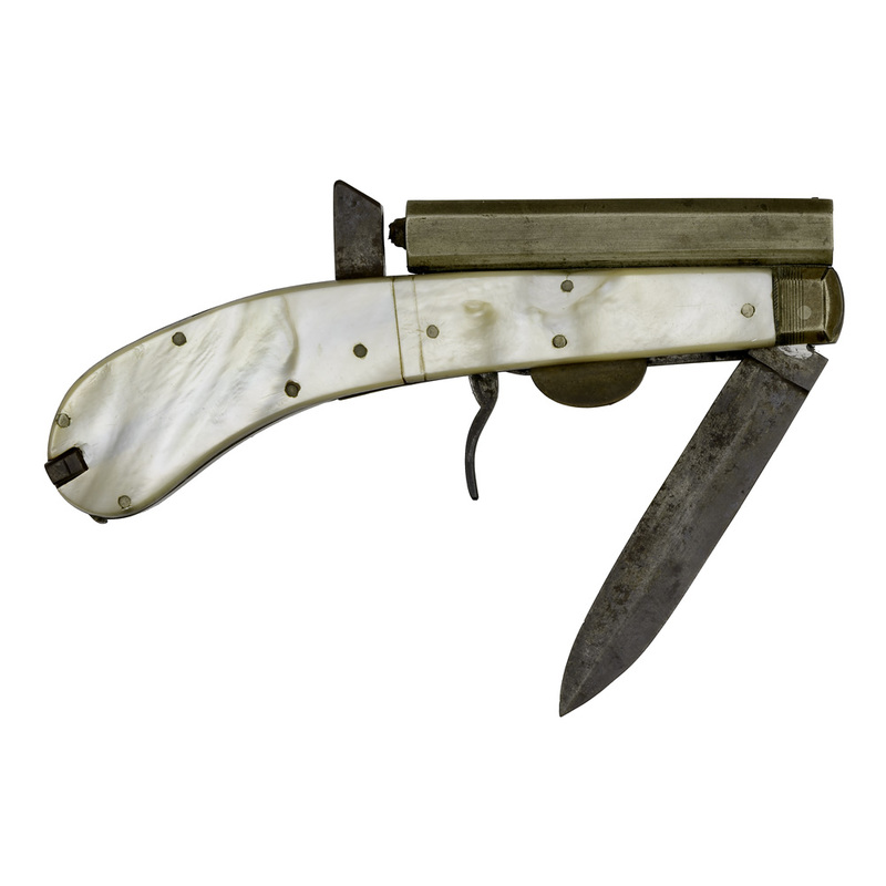 Unwin & Rodgers Percussion Knife Pistol