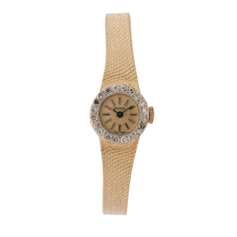 Croton 14 Karat and Diamond Watch for Herschede