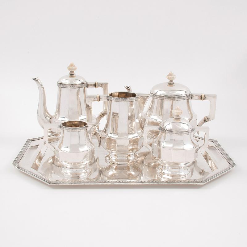 Austrian Silver Coffee and Tea Service