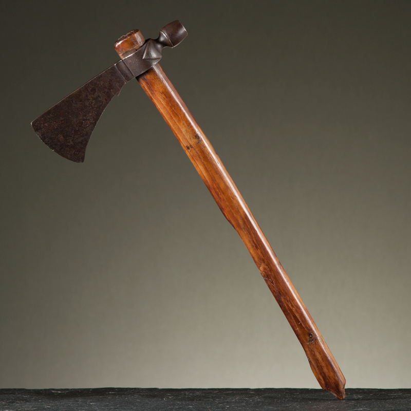 Woodlands Pipe Tomahawk From an Important Denver, Colorado Collector