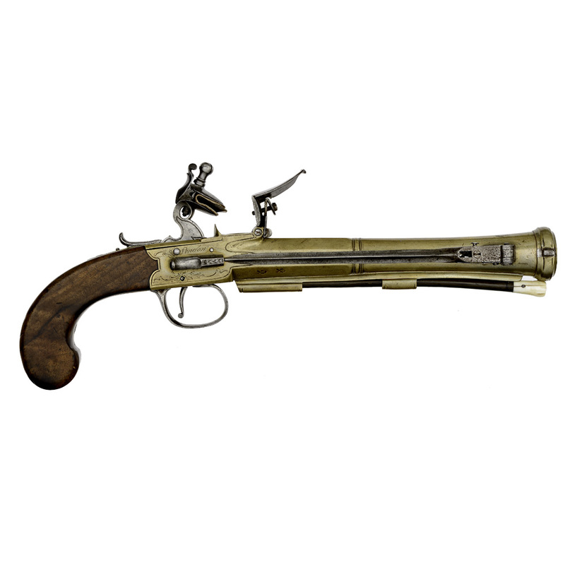 Flintlock Blunderbuss Pistol By Bunney