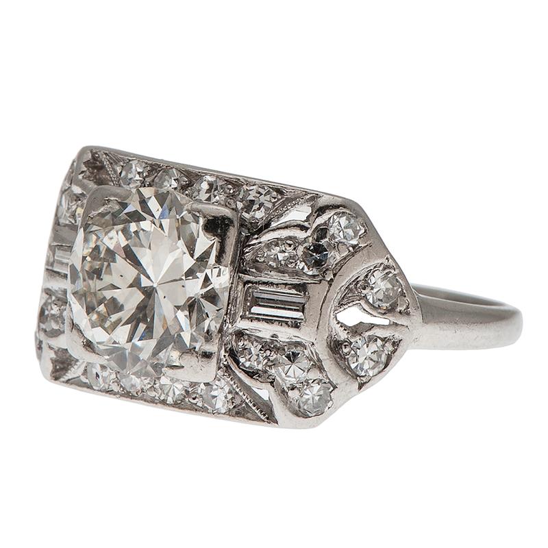 Diamond Fashion  Ring in Platinum