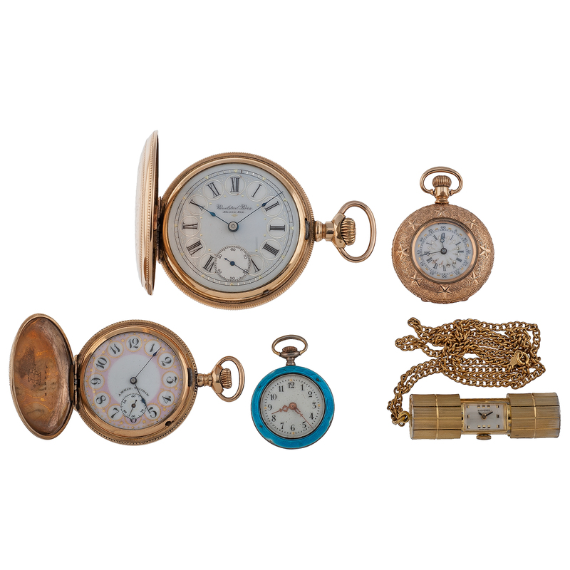 Waltham and Elgin Pocket Watches PLUS