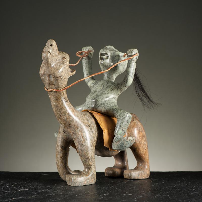 Floyd Kuptana (Inuit, b. 1964) Attributed Stone Sculpture
