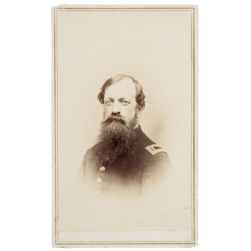 CDV of Major  Frederick  M. Edgell, 1st NHLA & 1st NHHA,