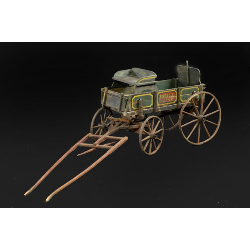 Birdsell Goat Wagon in Original Paint,