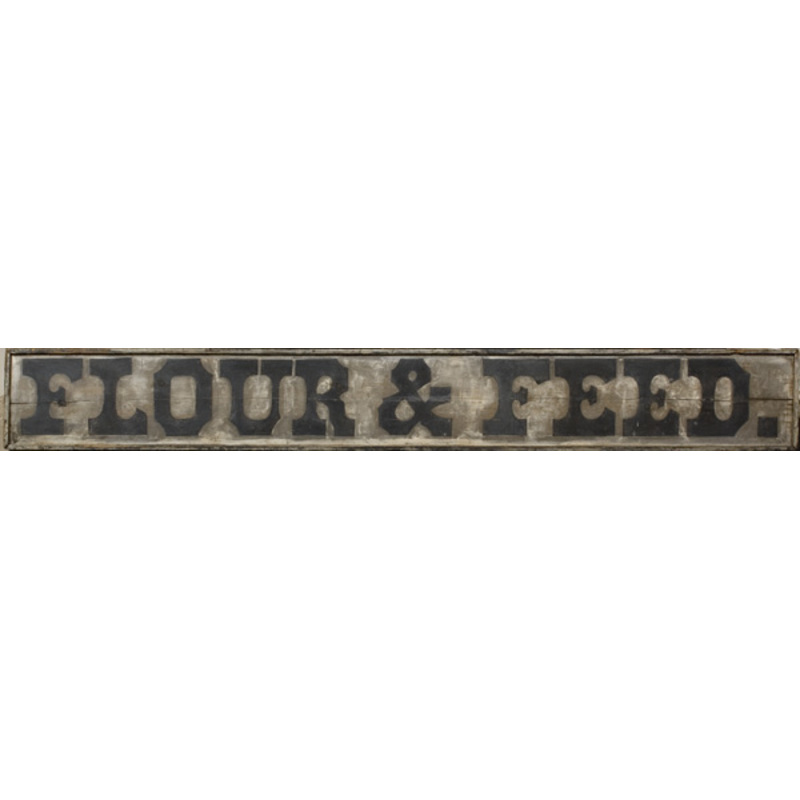 Trade Sign for Flour and Feed Merchant,