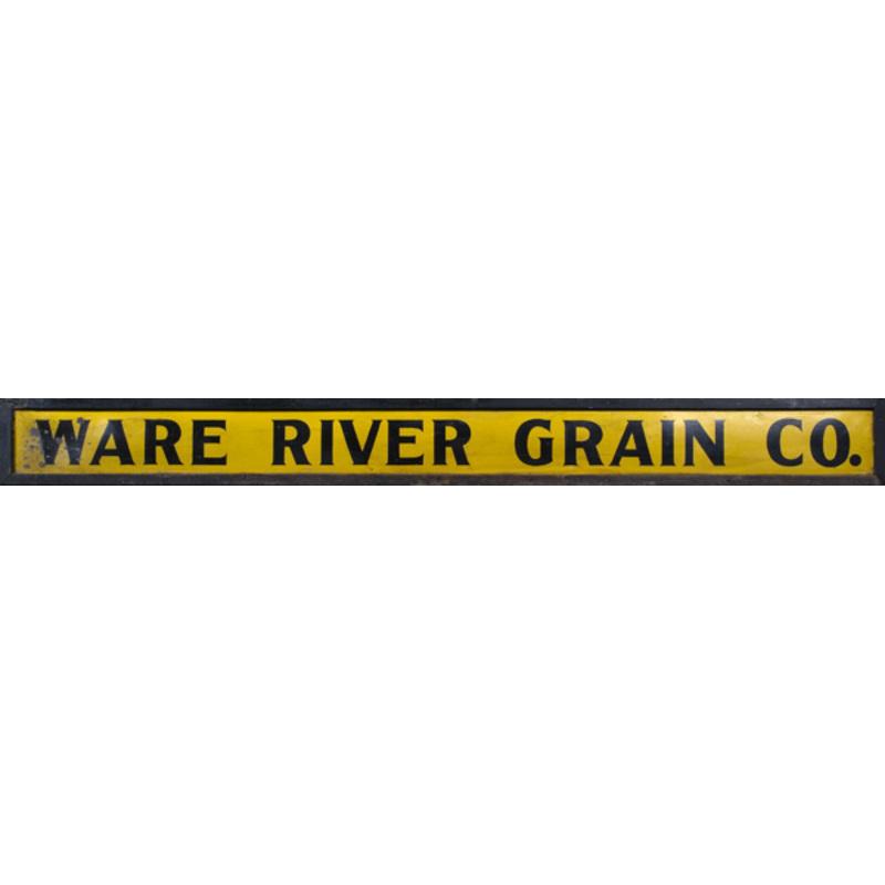 Trade Sign Ware River Grain Co.,
