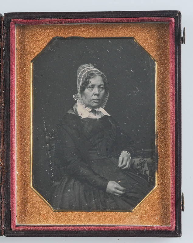 Quarter Plate Daguerreotype of Isabella Tatham by Root