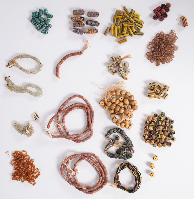 Collection of Glass Trade Beads, From a New York Collector