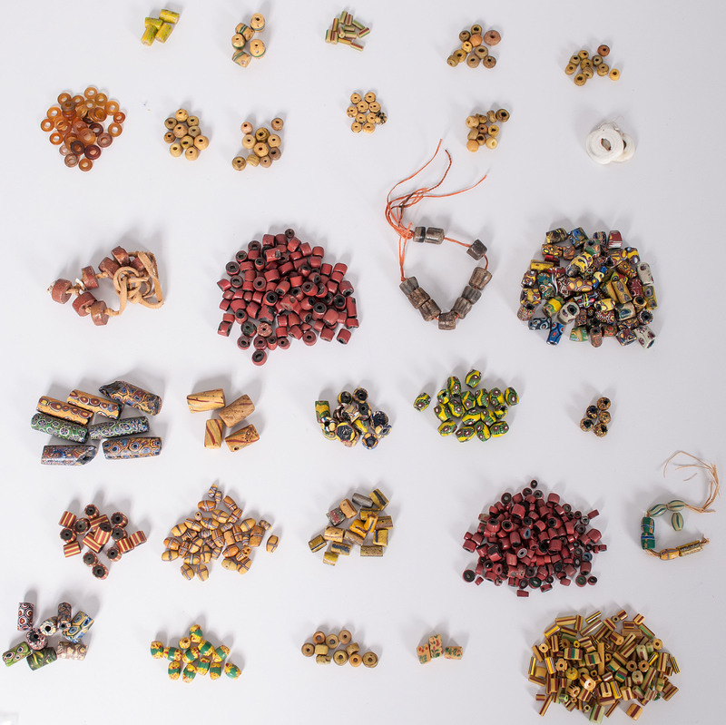 Venetian and African Glass Trade Beads, From a New York Collector