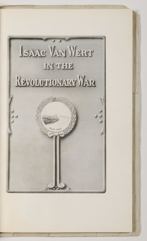 Isaac van Wert in the Revolutionary War, Captor of Major John Andre