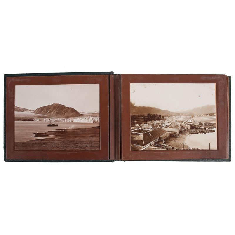 Alaska Photograph Album Featuring Photographs by Frank La Roche