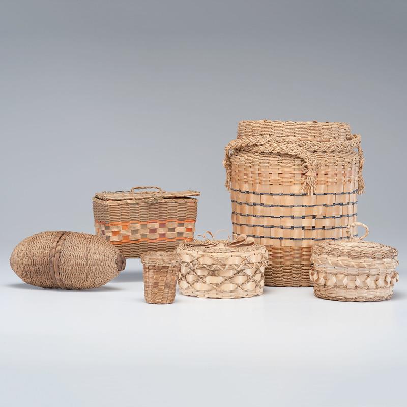 Northeastern Native American Sewing Baskets