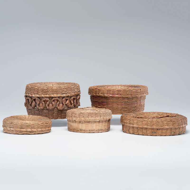 Mohawk Sweet Grass Craft Baskets