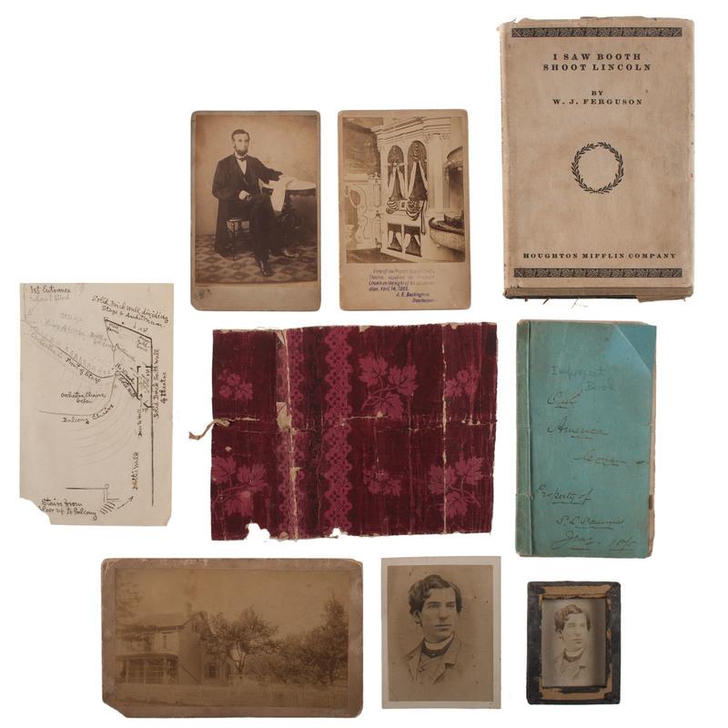 William J. Ferguson, Our American Cousin Cast Member, Lincoln Assassination Archive