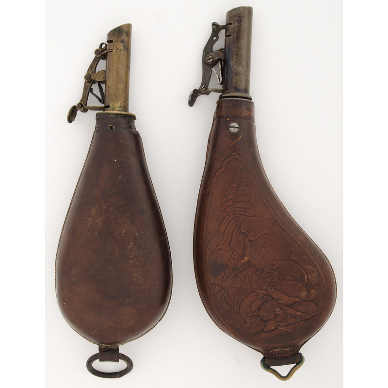 Lot of Two Shot Flasks