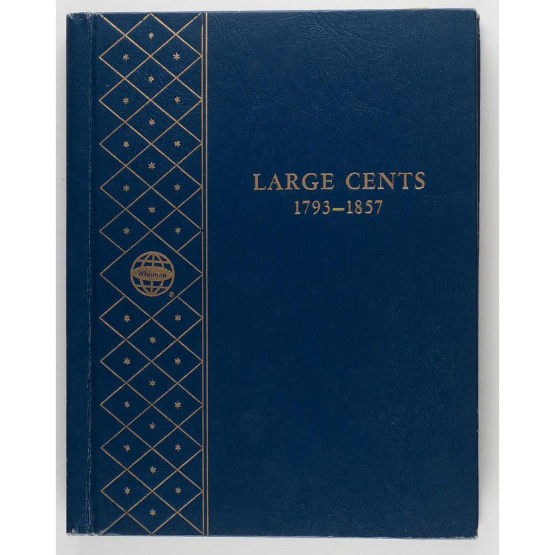 United States Large Cents Partially Complete Coin Folder