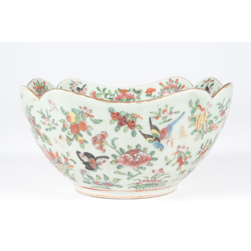 Chinese Bowl with Chrysanthemums