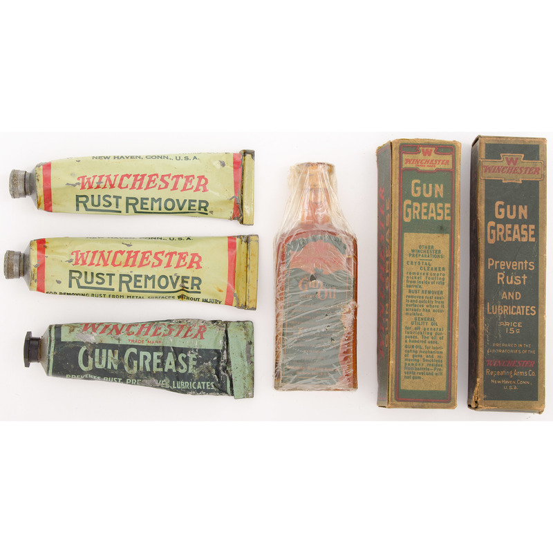 Lot of Winchester Gun Care Ephemera