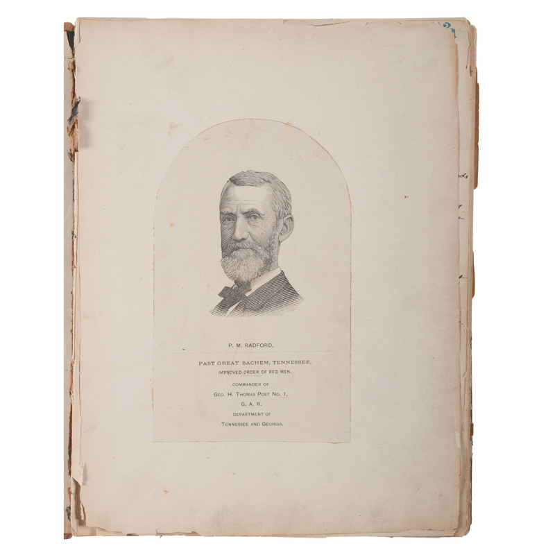 Si Clack: Co. Q, 100th Indiana Vols., Written and Illustrated by Civil War Veteran, P.M. Radford