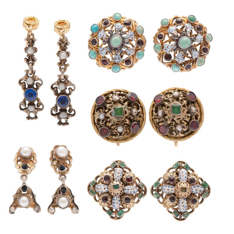 Austro Hungarian Earrings