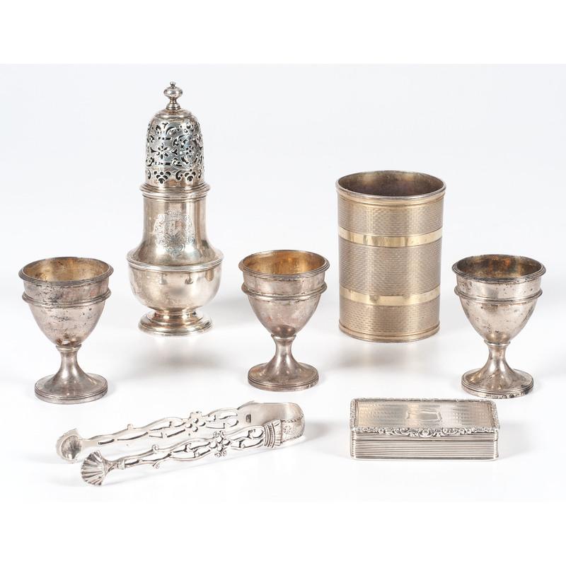 Late Georgian Sterling Tablewares