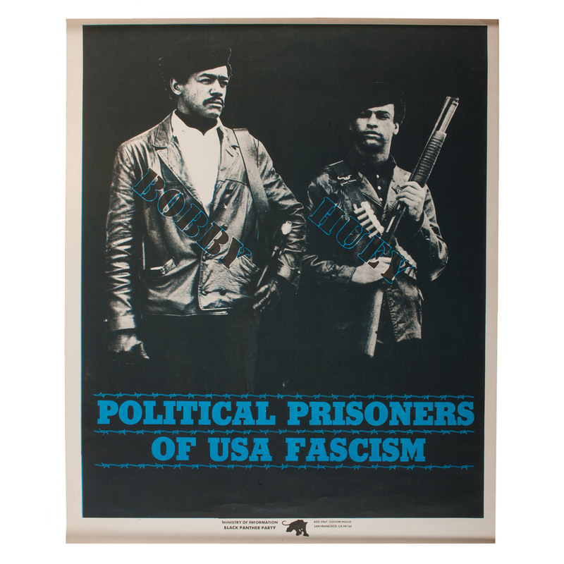 Bobby Seale and Huey Newton Black Panther Party Poster