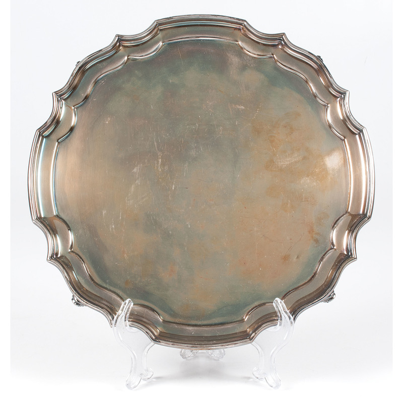 Contemporary Irish Sterling Salver
