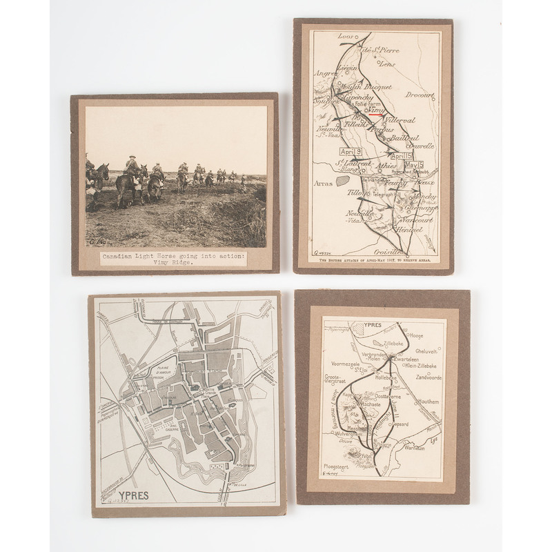 Post-WWI Maps, Poster of German Airplane Silhouettes, Plus