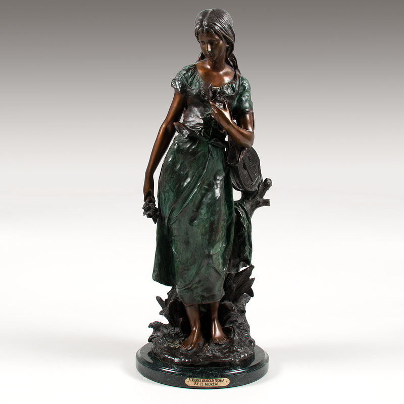 After Hippolyte Moreau (French, 1832-1927) Bronze