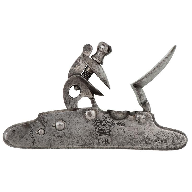 H. Nock British Military Screwless Rifle Lock