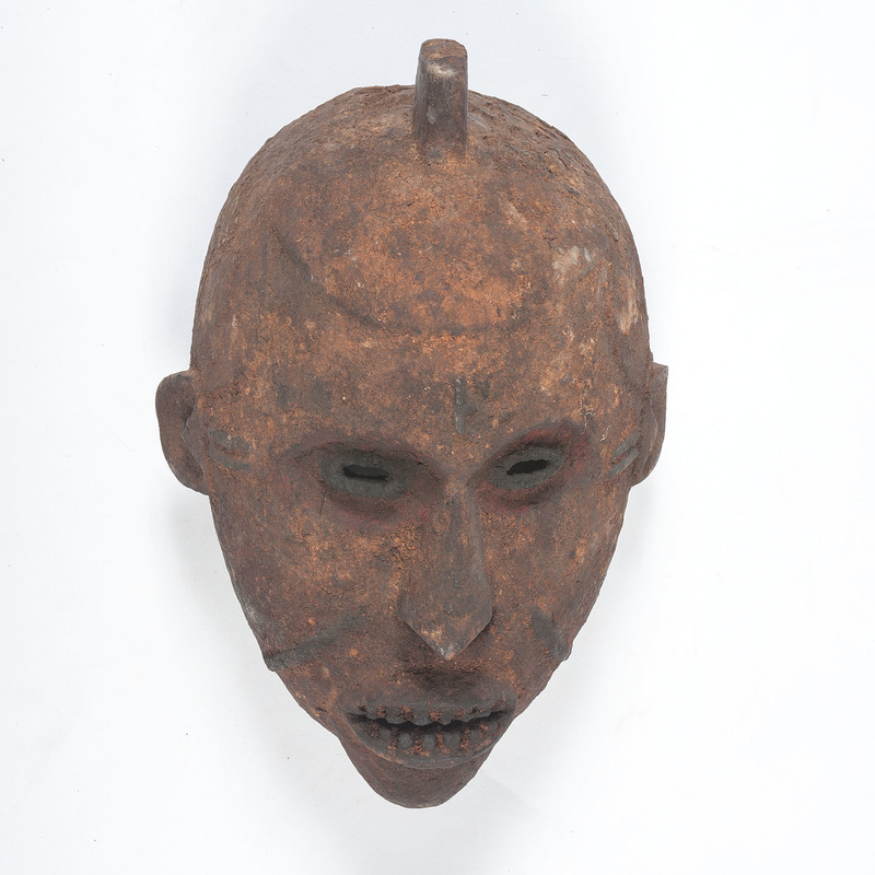 Nigeria / Cameroon Encrusted Face Mask, Sold to benefit the Acquisitions Fund of the Berea College Art College