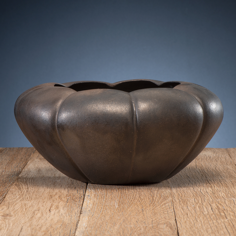 Angie Yazzie (Taos, b. 1965) Award Winning Micaceous Pottery Bowl, From the Collection of William H. Saunders, M.D. and Putzi Saunders, Ohio