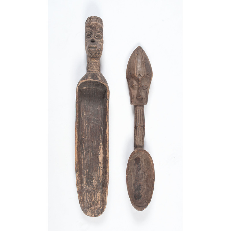 African Carved Wood Spoons, PLUS, Sold to benefit the Acquisitions Fund of the Berea College Art Collection