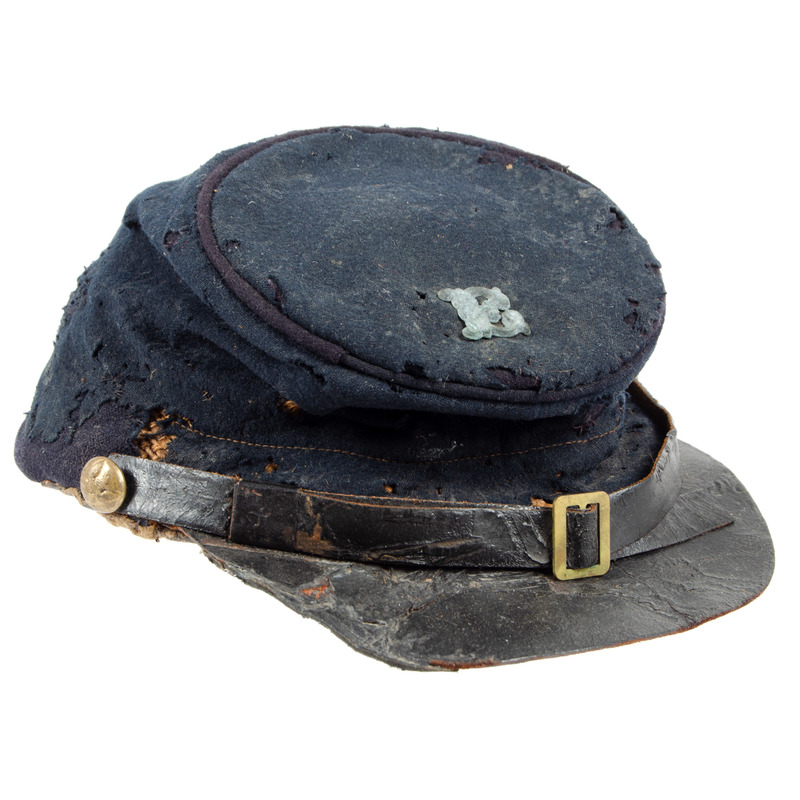 Federal Model 1858/61 Fatigue Cap with Company Letter