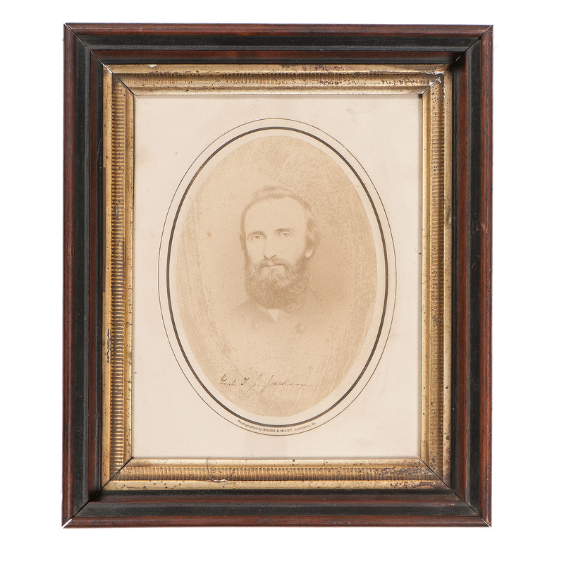 "Albumen Photograph of Thomas J. ""Stonewall"" Jackson"