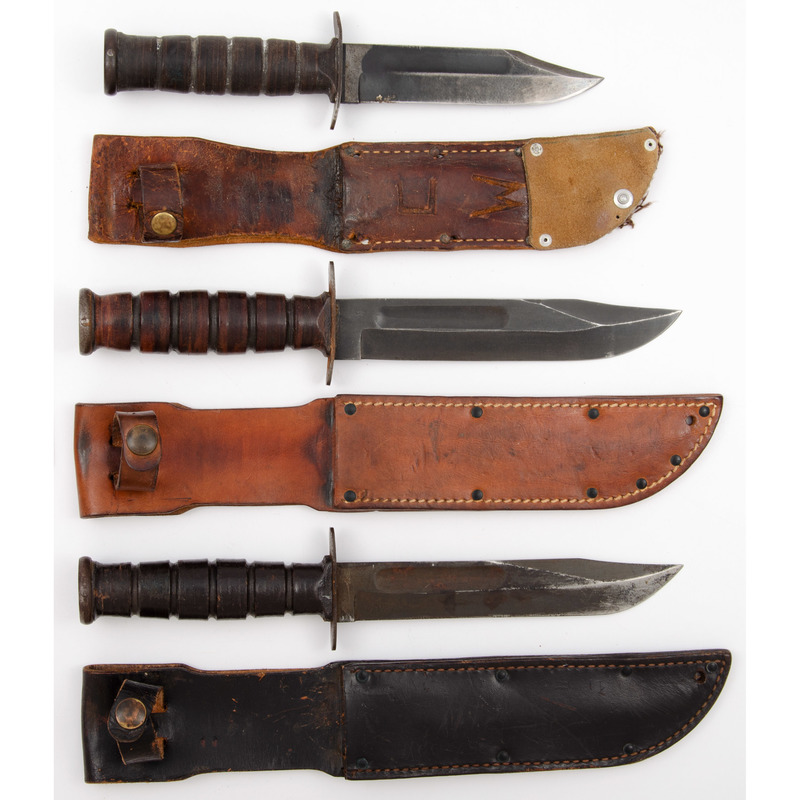 US Fighting Knives from the Estate of Art Gerber, Tell City, Indiana