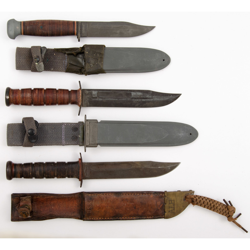 USN Knives from the Estate of Art Gerber, Tell City, Indiana