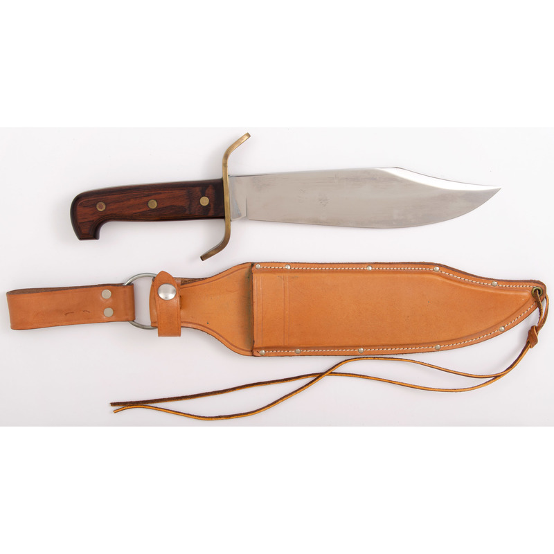 Custom Bowie Knife from the Estate of Art Gerber, Tell City, Indiana