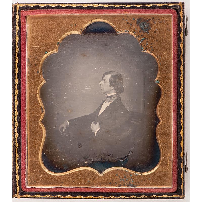 Sixth Plate Daguerreotype of a Snooty Gentleman