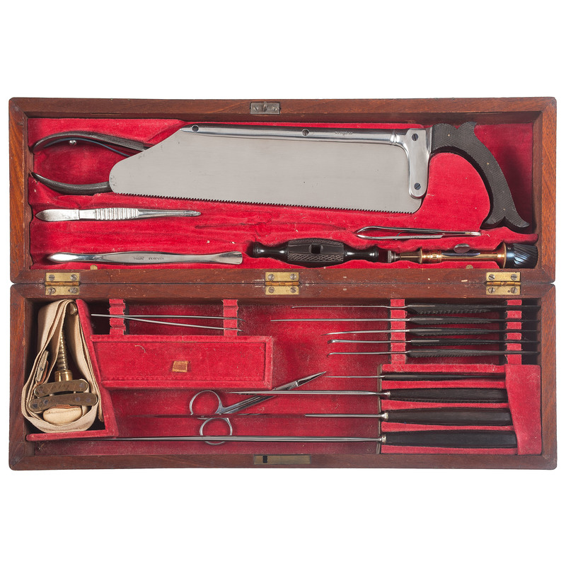 19th Century Surgical and Amputation Kit