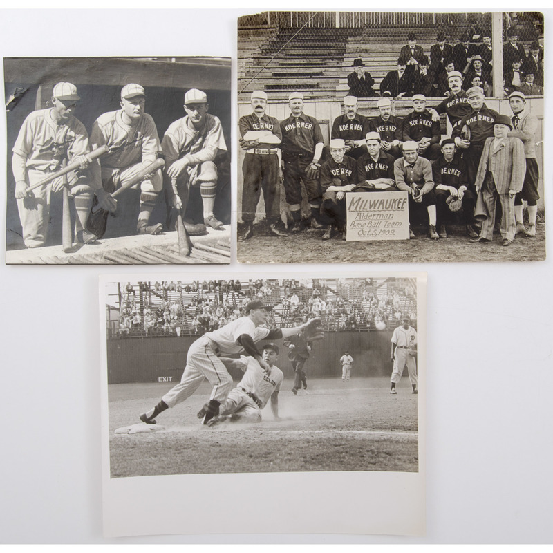 Group of Baseball Photographs