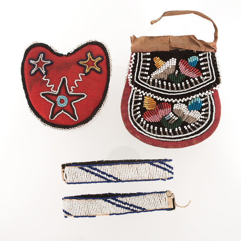A Collection of Plains AND Great Lakes Beaded Objects