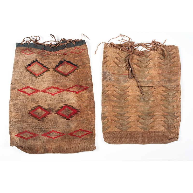 Plateau Corn Husk Flat Bags, From a Montana Collection