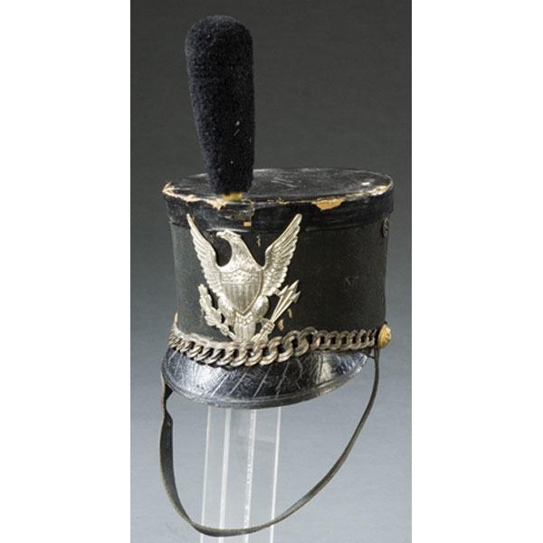 Mexican War Era Felt Tar Bucket Hat,