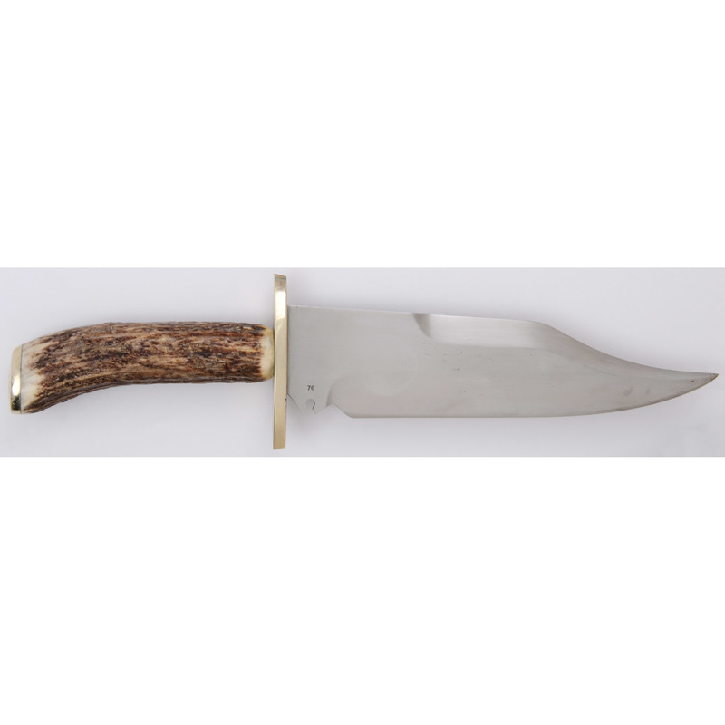 Custom Kessnick Bowie Knife with Stag Grip