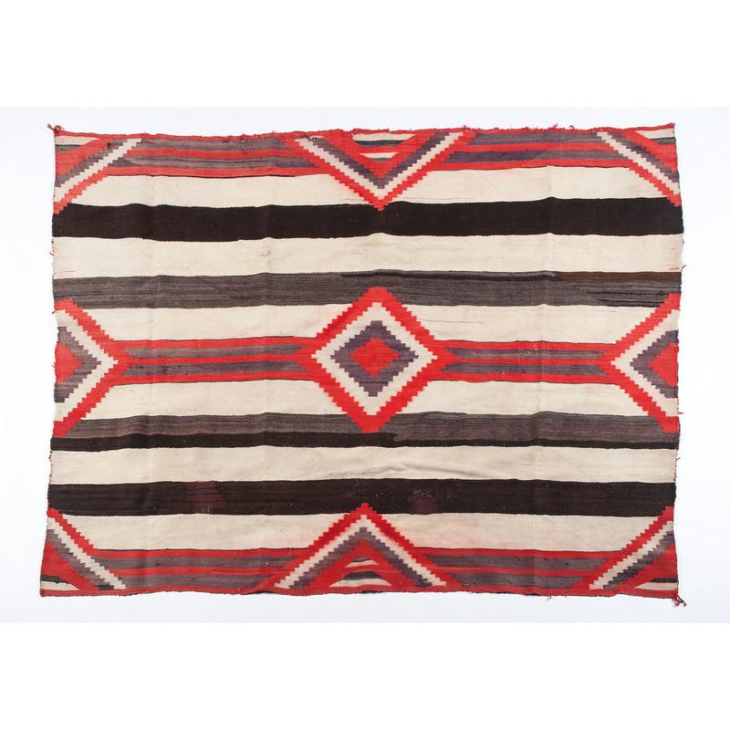 Navajo Third Phase Chief's Blanket / Rug